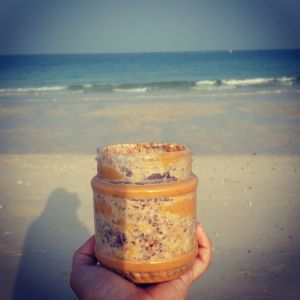 Chia Pudding at the Beach!
